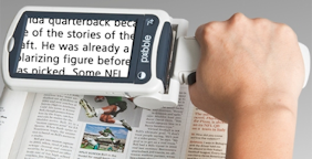 Hand held portable reader